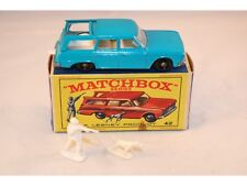 Matchbox Lesney No 42 Studebaker Station Wagon BPW mint in RED PICTURED RARE BOX