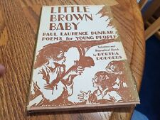 New listing Vintage Book Little Brown Baby By Paul Laurence Dunbar