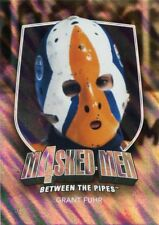 11/12 BETWEEN THE PIPES MASKED MEN 4 SILVER MASK #MM-18 GRANT FUHR OILERS *48313