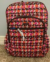 Vera Bradley Houndstooth Tweed Campus Tech Backpack Laptop Sleeve with Tags