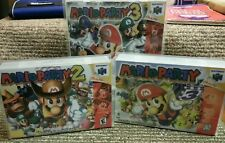 Custom game cases/box for Mario Party 1 2 & 3 Nintendo 64 N64