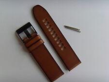 DIESEL Original Ersatzband Lederarmband DZ1764 Uhrband braun 24 mm watch strap