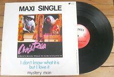 "CHRIS REA I Don't Know What It Is But I Love It (1984) VINYL 12"" 33 ⅓ RPM"