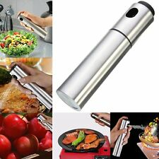 Kitchen Stainless Oil Sprayer Olive Mister Spray Pump Bottle Cooking Tools TB