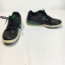 Adidas Mega Softcell Men's Size 10 M Black Green Lace Up Athletic Sneaker Shoes
