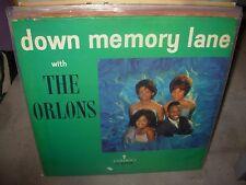 ORLONS down memory lane ( r&b ) - WHITE LABEL PROMO -