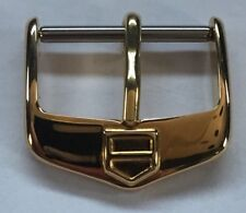 Buckle With Thang Gold Plated Nos 18 mm Tag Heuer