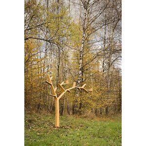 Bücherregal, Baumregal DO112 aus Massivholz