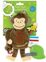 Rainbow Designs THAT'S NOT MY MONKEY COMFORTER Baby Branded Toy BN