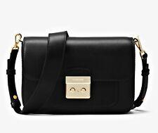 Michael Kors Bag Sloan Editor LG Shoulder With 2 Shoulder Strap Black New