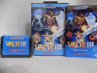 VALIS III Sega Genesis Mega Drive.