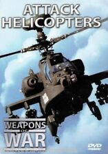 WEAPONS OF WAR - Attack Helicopters DVD + BOOK WORLD WAR TWO WWII BRAND NEW R0