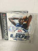 NBA Live 2001 Sony Playstation Everyone 1-8 players EA Sports NTSC U/C