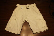 GENUINE MENS LEVI CARGO SHORTS****NEW WITH TAGS***OFF WHITE***SELECT SIZE***