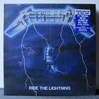 METALLICA 'Ride The Lightning' Remastered Vinyl LP NEW & SEALED
