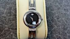 Movado  Ladies Watch 84A1809AS Harmony Stainless Steel With Diamonds Bangle