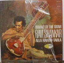 Sound of the Sitar Ravi Shankar Alla Rakha Tabla 33RPM WS-21434   112016LLE