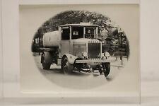 großes Foto Oldtimer LKW Vomag Sprengwagen  vermutlich eine  Reproduktion