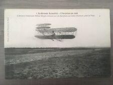 CPA- AVIATION - Biplan de Wilburg WRIGHT  -  1908 -  RARE