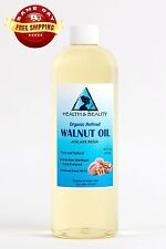 WALNUT OIL ORGANIC CARRIER COLD PRESSED PREMIUM NATURAL PURE 64 OZ