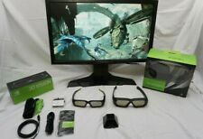"""Alienware OptX AW2310 1080p LCD Monitor 23"""" w/NVidia 3D Vision Kit, 2 Glasses IR"""