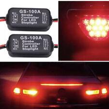 Car Flash Strobe Controller Box Module LED Stop light Tail Lamp GS-100A 12V-24V