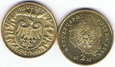 Wojewodztwo Mazowieckie 2004 2 Zl Muenze  Nordic Gold Bfr,