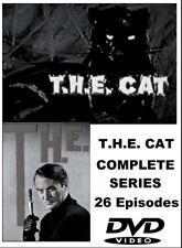 T.H.E. CAT   COMPLETE SERIES  7 DVD SET- 26 EPISODES
