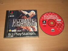 Ultimate Fighting Championship Sony Playstation / PS1