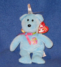 TY BASKET BEANIE - CANDIES THE BEAR - MINT with MINT TAGS