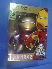Marvel Mighty Muggs SDCC EX  Iron Man 2 NEW Free Ship US