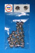 25 Pak of Metal Acorn Nuts, Threaded Metal Post Cap - Williams, Bally, Stern