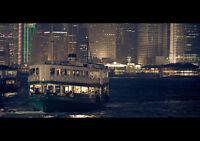 HONG KONG NEW A3 CANVAS GICLEE ART PRINT POSTER