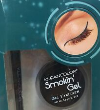 KLEANCOLOR SMOKIN ' Gel Eyeliner Smoky Forest (Sea Green) With Professional Brus