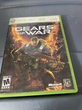 Gears of War Xbox 360 Complete Box Original Disc Microsoft Xbox Live Epic Games