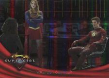 Supergirl Season 1 Rainbow Foil Base Card #62 What Do I Call You?