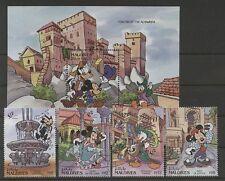 Walt Disney, Granda - Malediven - 1703-1706, Bl.226 ** MNH 1992