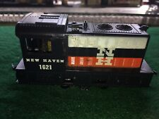 Marx Ho Vntg#1621Plymouth Type, New Haven Rr Switcher Couplers Horn Tested Runs!
