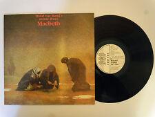 Third ear band's music from - Macbeth LP