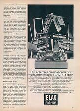 ELAC-FISHER-1970-Reklame-Werbung-vintage print ad-Vintage Publicidad
