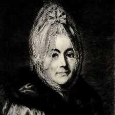 Watteau Portrait de femme au Voile Mode Fashion Gravure Milius 19e siècle