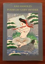 New listing Axe Handles: Poems by Gary Snyder, Pbdj 1983 Signed