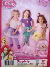 Simplicity 1432 Sewing Pattern Toddlers Tutus Tops Leggings 6 Mths 4 Yrs