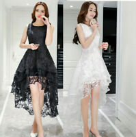 Women Long Lace Dress Prom Evening Party Bridesmaid Wedding Gown Formal dress