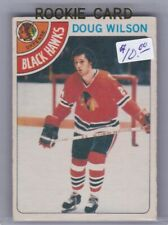 O-Pee-Chee Rookie Card Doug Wilson Chicago Blackhawks