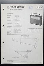 Philips L3D23T Henriette 323 Original Manual de Servicio/Manual/Esquema