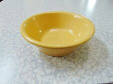 La Solana Ware Pottery YELLOW Cereal Bowl 5 7/8  Inches