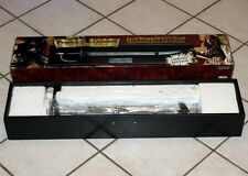 PIRATES of the CARIBBEAN Jack Sparrow CUTLASS SWORD in SHADOW BOX DISPLAY New