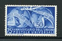 ITALY 1949 UPU SCOTT#514 MINT NEVER HINGED