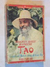 TAO DISCORSI SUL TAO TE CHING DI LAO TZU Volume 3 Bhagwan Shree Rajneesh Re Nudo